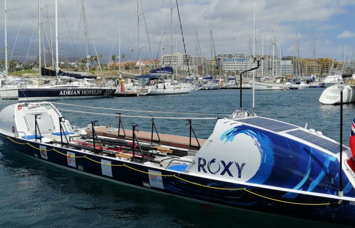 Mit dem Ruderboot über den Atlantik